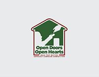 Open Doors, Open Hearts logo