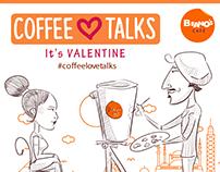 "Beano's Cafe GIFs ""Coffee Love Talks"""