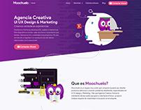 New website Moochuelo Redesign