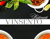Concept design for VINCENTO Restaurant