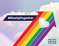 #RiseUpTogether 2018 Pride March & Festival Key Visual