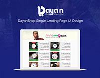 DayanShop - Landing Page
