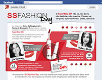 Layout de concurso no Facebook da Maybelline Brasil