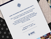 MSC Cruises invitation