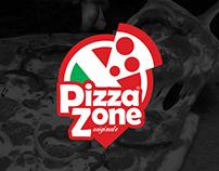 PizzaZone Logo Design