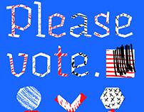 Please Vote Poster
