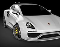 porsche RR hatchback concept