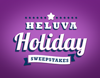 Heluva Holiday Microsite