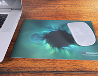 Aluminium Mousepad Mock-up