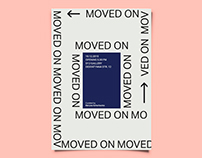 Identity for Moved On exhibition