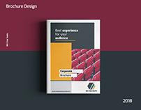 Brochure Design | MS Cine Seats - Graphic Design