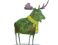 Moose, Interrupted