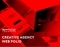 Creative agency web polio
