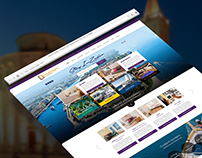 Stay In Zadar Website UI Design & Development