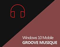 Groove Musique Windows 10 Mobile