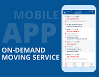 "KwikiMove - mobile app for ""Movers Marketplace"""