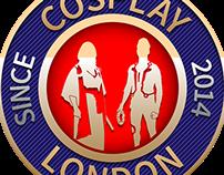 Cosplay London Badge Designs