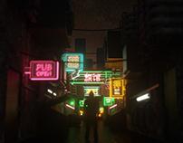 Neon Alley