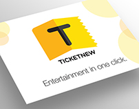 Ticket New - UI design