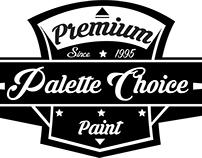 Palette Choice logo concept