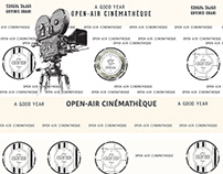 "Open-Air Cinematheque ""A Good Year"" Idea&Design"