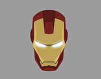 IronMan Free Vector