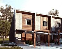 Micro townhouses