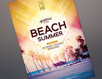Beach Summer Flyer