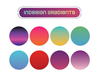 Pre-made Indesign Gradient