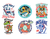 Cartoon Character Logos Vol. 2