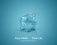 Save water ...