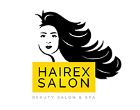 Beauty Salon Hair & Spa Girl Logo Free