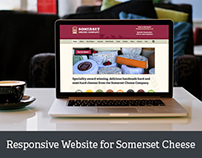 New responsive WordPress website for Somerset Cheese