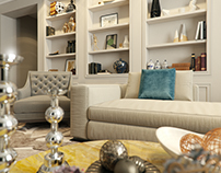 Interior design apartments