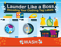 Launder Like a Boss | INFOGRAPHIC