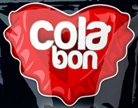 Cola bon candy packaging design