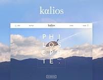 Kalios | WEBSITE E-SHOP