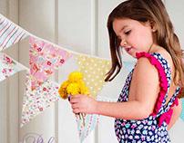 Pilar Fiore, trajes de baño para nenas