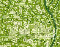 Map illustrations