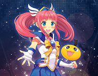 Cosmania Karin Character Design
