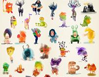 50 Rebelle Creatures