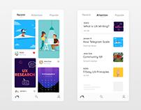 iOS App Design Experiment