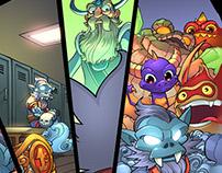 Skylanders coloring