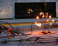 Collaborative Fire Installation Fringe Festival