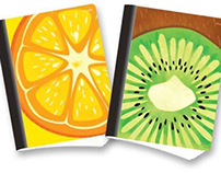 Note Book Fruits 1