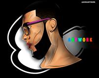 MY PORTRAIT - CARTOON @SONGARTWORK