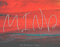 NEW! Mind Script Font