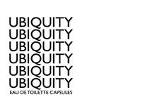 Ubiquity Eau de Toilette Capsules Branding