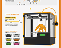 Information design_3D printer-Kidult