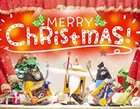 Short Film Frebots! 4 : Christmas Mission!
